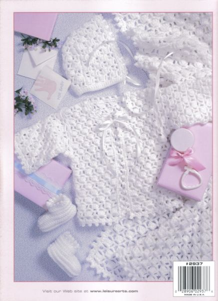 lacy layettes baby crochet pattern book